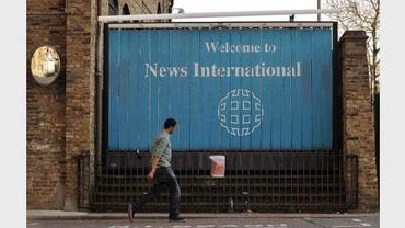 L'entrée de News International Newspapers Limited, propriétaire de News of the World