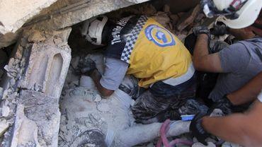 Les casques blancs ont joué un rôle important dans le soutien aux sinistrés syriens