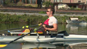 Louis Toussaint, champion d'aviron paraplégique