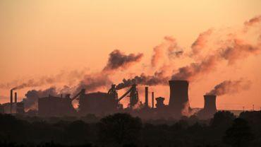 Une usine du groupe British Steel