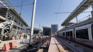 Dubaï inaugure son premier tramway, un produit franco-belge