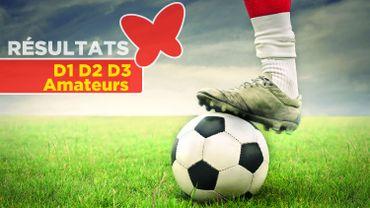 Football : résultats en D1, D2 et D3 Amateur, we du 10-11/09