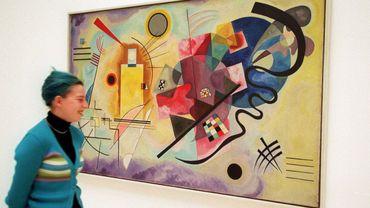 """""""Jaune, Rouge, Bleu"""", une oeuvre de Vassily Kandinsky"""