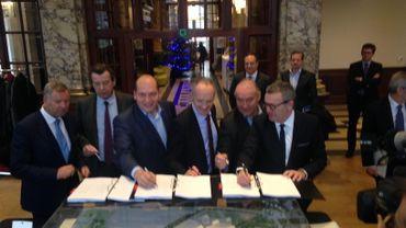 L'accord sur le projet Neo a été signé ce jeudi