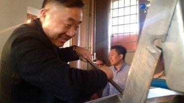 Les distributeurs chinois découvrent l'art du brassage.