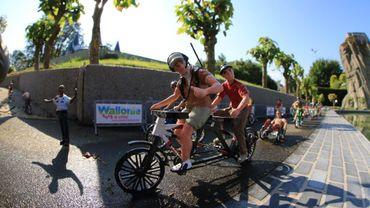 Le Beau Vélo de RAVeL mis en scène à Mini-Europe !