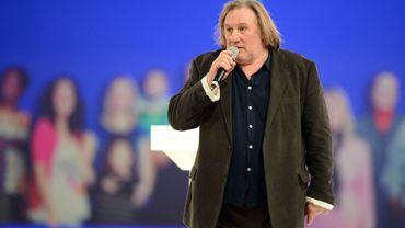 Gérard Depardieu est désormais domicilé à Estaimpuis