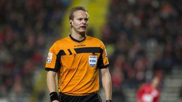 Bart Vertenten arbitrera la Supercoupe dimanche entre le Club Bruges et le Standard