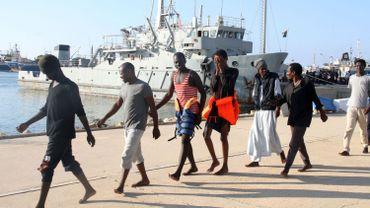 Libye: un groupe de 138 migrants interceptés au large de Tripoli