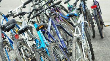 Des vélos pour les réfugiés de la région de Charleroi