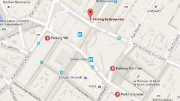 Bruxelles: 4 parkings gratuits ce we pour vos soldes