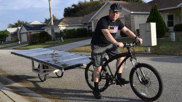 Michel va parcourir la ROUTE 66 sur un vélo 100% solaire !