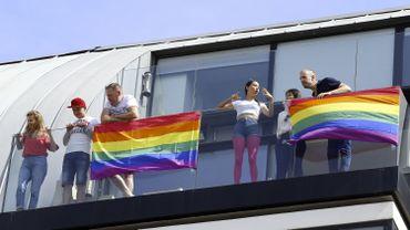La Pride d'Anvers en 2018
