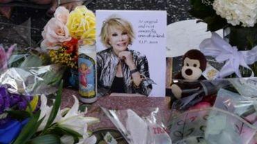 Obsèques de star pour la présentatrice et humoriste Joan Rivers