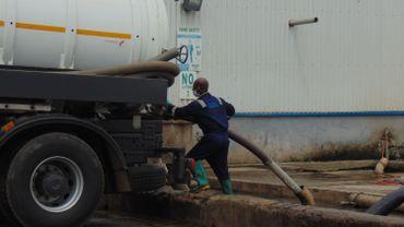 Dans cette usine, on récupère quotidiennement 80% des matières fécales produites dans la capitale ghanéenne.