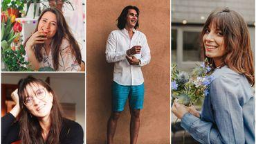 Ils s'appellent Alizée, Manon, Anne et Matthieu et à contre-courant, ils tirent un bilan positif de 2020