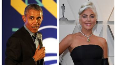 L'ancien président américain Barack Obama et la chanteuse Lady Gaga s'adresseront aux diplômés universitaires américains lors d'une cérémonie en direct au mois de juin.