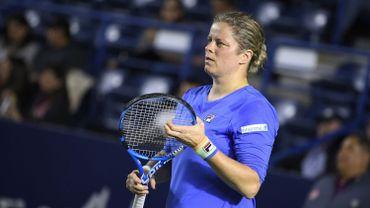 World Team: Une victoire et une défaite en double samedi pour Kim Clijsters