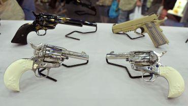 Des armes de collection