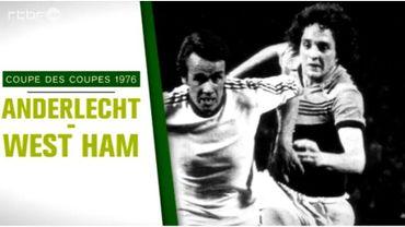 Le 5 mai 1976, Anderlecht entre dans l'histoire du football belge