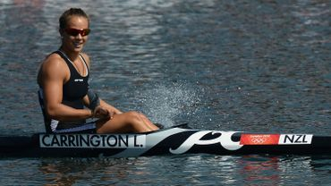 La Néo-Zélandaise Lisa Carrington en or au K1 200m