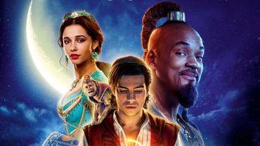 """""""Aladdin"""" de Guy Ritchie avec Will Smith, Mena Massoud et Naomi Scott a également pris la première place du box-office français des nouveautés dès son premier jour d'exploitation."""