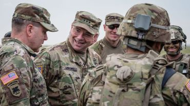 Une brigade de l'US Army transite par la Belgique pour renforcer le flanc est de l'Otan