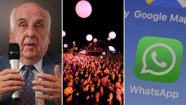 Etienne Davignon, les coulisses des festivals et l'accès aux réseaux sociaux pour une enquête dans la Semaine Viva