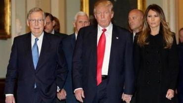 """Donald Trump a une """"journée chargée"""": il va organiser sa future administration"""