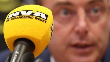 Bart De Wever au Parlement flamand, en août dernier