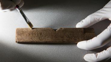 Des tablettes de cire de l'ère romaine retrouvées au cœur de Londres