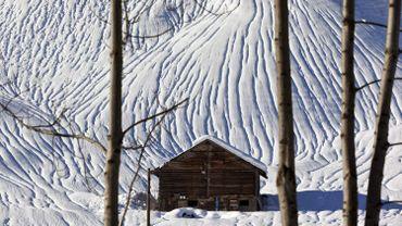 La neige suisse est victime du réchauffement climatique.