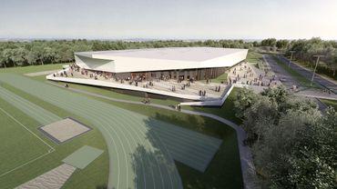 Le futur centre sportif de haut niveau de Louvain-la-Neuve