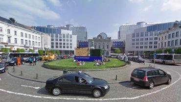 La commune d'Ixelles renouvelle la place du Luxembourg
