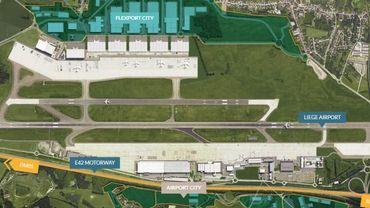 """L'aéroport de Liège compte se développer autour de l'e-commerce grâce à sa zone """"Land in Liège"""""""