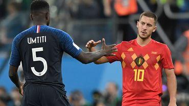 Eden Hazard et Samuel Umtiti