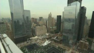 New York : les recherches ont repris sur les ruines du World Trade Center