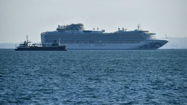Au moins 10 personnes contaminées à bord du navire de croisière Diamond Princess, placé en quarantaine au Japon