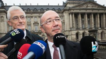 """Gouvernement fédéral: """"Un gouvernement arc-en-ciel, l'alternative au chaos"""", selon Rudy Demotte"""