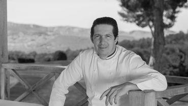 Christophe Bacquié cuisine à l'Hôtel du Castellet