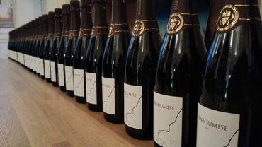 La coopérative Vin de Liège présente l'Insoumise, son nouveau mousseux
