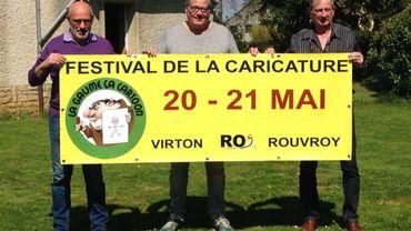 Le festival international de la caricature, du dessin de presse et d'humour de Rouvroy-Virton se tiendra du 19 au 21 mai.