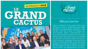 L'almanach du Grand Cactus publié en supplément du Ciné Télé Revue