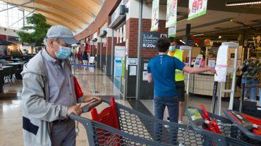 Coronavirus en Belgique: les règles pour faire ses courses deviennent moins strictes