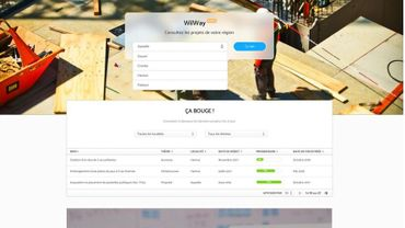 Wilway, une appli pour suivre en temps réel les projets de votre commune