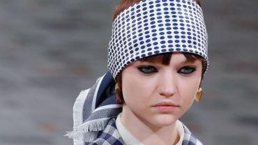 Une création Dior au cours du défilé de prêt-à-porter automne/hiver 2020-2021   à Paris, le 25 février 2020.