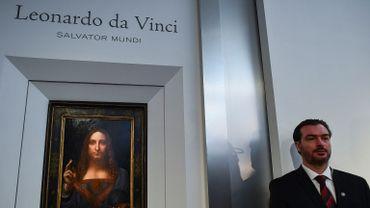 """La maison d'enchères Christie's a enregistré des ventes en progression notamment grâce à la somme record rapportée par le """"Salvador Mundi"""" de Léonard de Vinci"""