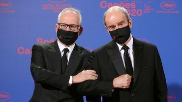 Thierry Frémaux (à gauche) et Pierre Lescure, délégué général et président du Festival de Cannes.