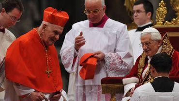 Monseigneur Ries avait été créé cardinal par le pape Benoît XVI en février 2012