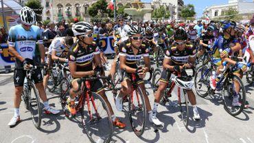 Colombia au départ du Giro l'an dernier